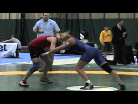 2009 Junior National Championships: 59 kg Jessy Seida vs. Liz Sera
