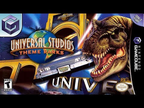 Longplay of Universal Studios Theme Parks Adventure