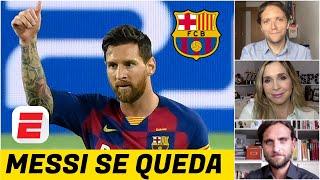 ¡OFICIAL! Lionel Messi SE QUEDA en el Barcelona. ¿Luis Suárez también es parte del 'plan' Koeman?