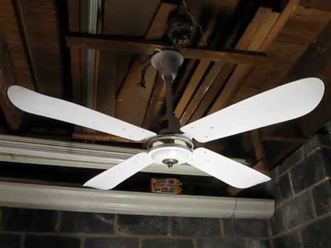 Jab Union 48 Quot 4 Blade Industrial Ceiling Fan Model A 1