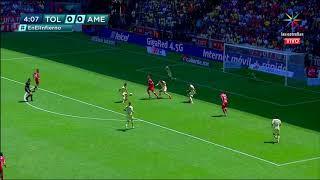 Gol de F. Mancuello | Toluca 1 - 0 América |Clausura 2019  - Jornada 15 | LIGA Bancomer MX