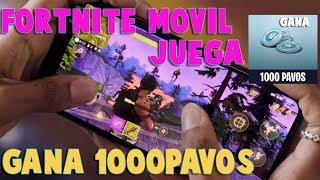 WIN 1000 FREE PAVOS FORTNITE FOR ANDROID