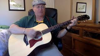 1023b  - ocean front property -  george strait cover  - vocals  - acoustic guitar & chords