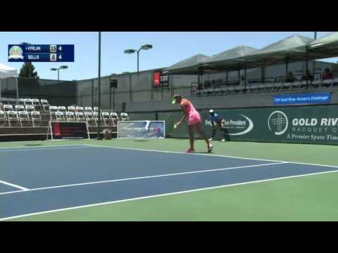 ITF 50k Sacramento 2015 / 1st Round / Vyrlan v Bellis