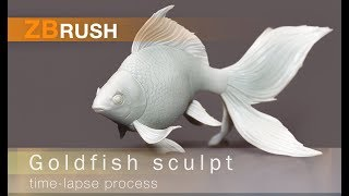 ZBrush process Goldfish