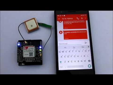 OPEN GPS TRACKER (SMS DEMO)