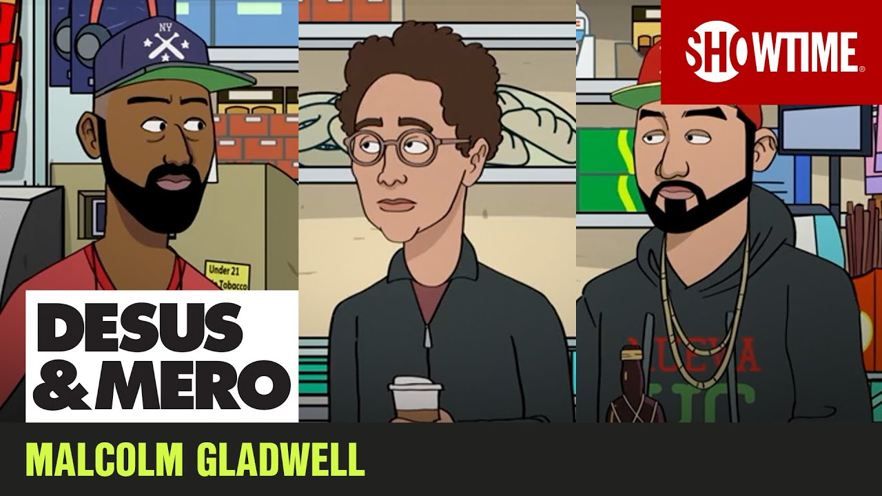 Writer Malcolm Gladwell Joins Us in Cartoon Form | DESUS & MERO | SHOWTIME