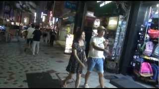 Tokyo night life from Roppongi to  Shibuya