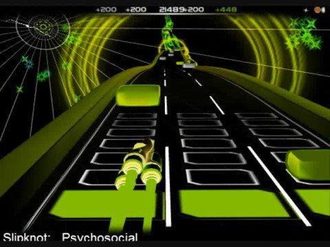 Audiosurf: Slipknot - Psychosocial: Mono Pro