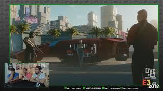 Microsoft Conference E3 2018 Cyberpunk 2077 Trailer   Reaction