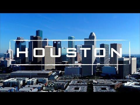 Houston, Texas   4K Drone Footage