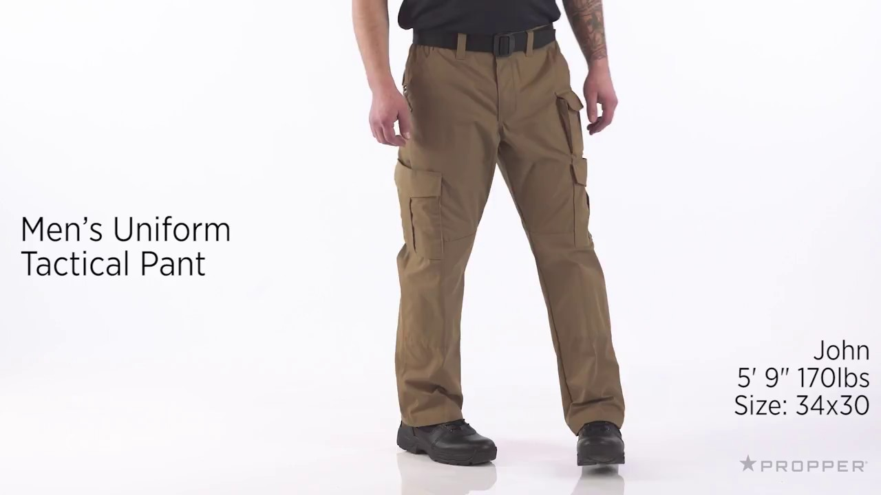 Propper® Men s Uniform Tactical Pant - YouTube 529a120c03e4