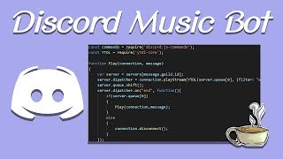 Video Coding Your Own Discord Bot - Discord.js - Playing Music download MP3, 3GP, MP4, WEBM, AVI, FLV Agustus 2018