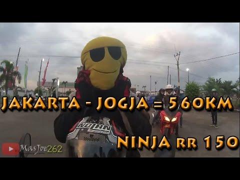 #12 Mudik pake Ninja RR | Macet total brebes | Hampir diserempet pick up