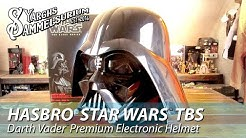Review HASBRO Star Wars TBS - Darth Vader Premium Electronic Helmet Black Series - Unboxing deutsch