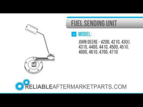1713 LVA12714 New John Deere Fuel Tank Sending Unit 4200 4210 4300