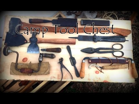 Wisdom of the Wall Tent Part 3 Camp Tool Box