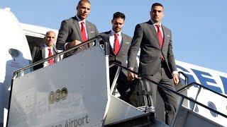 Η πτήση του Ολυμπιακού για Λονδίνο! / Olympiacos's Flight to London!