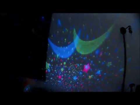 Lmtech Baby Room Night Light Moon Star Projector 360