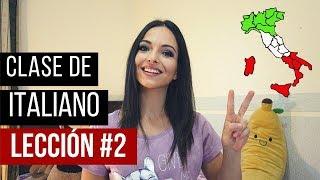 Clase de italiano básico para principiantes | Aprender idioma italiano