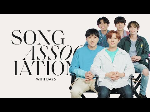 DAY6 Sings Bazzi, Sam Smith, and Kelly Clarkson in a Game of Song Association | ELLE