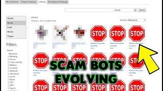 ROBLOX Scam Bots Haben Gotten Worse...