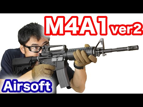 KSC COLT M4A1 ver.2 GBB airsoft review 2016/8再生産版 マック堺のレビュー動画