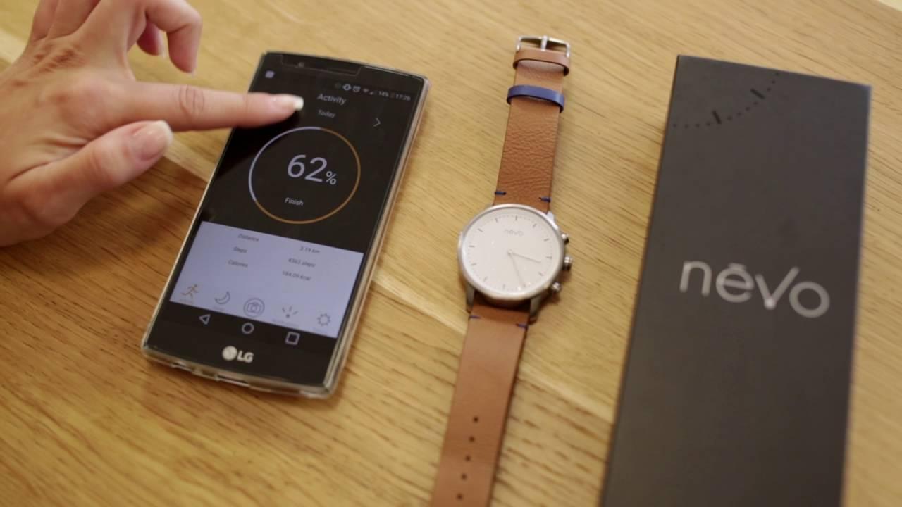 Smartwatch-ul Nevo cu o autonomie de pana la 6 luni il gasesti la QuickMobile!