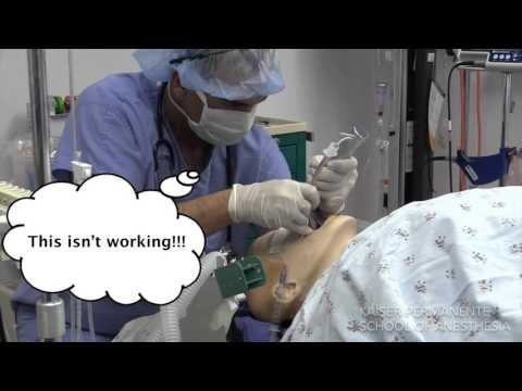 Airway Management - Poor Management