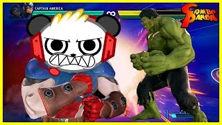 Marvel vs. Capcom Infinite THANOS DEFEATED Let's Play with Combo Panda