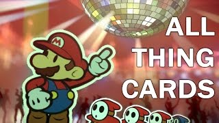 Paper Mario Color Splash: ALL THING CARDS Animations (1080p 60fps)