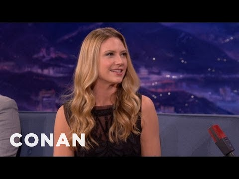 Anna Torv Left Beer Out For Australian Santa Claus  CONAN on TBS