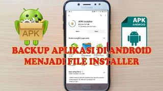 Cara backup file aplikasi di Android