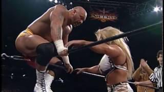 (720pHD): WCW Nitro 12/27/99 - Asya & Norman Smiley vs. Perry Saturn & Hacksaw Jim Duggan