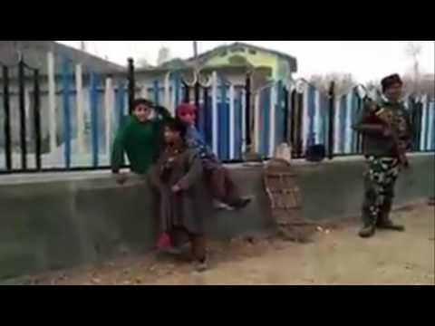 Kashmiri Children Raising Islamist And Anti-India Slogans
