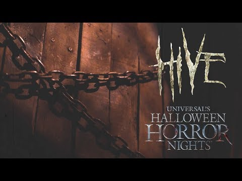 HIVE House Reveal   Halloween Horror Nights 2017