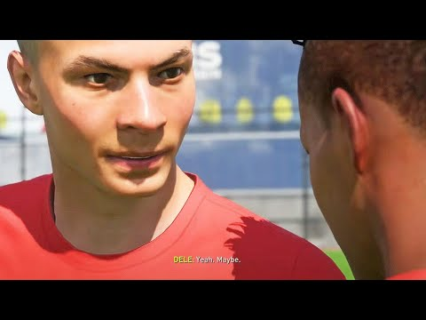 Alex Hunter vs Dele Alli ENEMIES (FIFA 18 The Journey)
