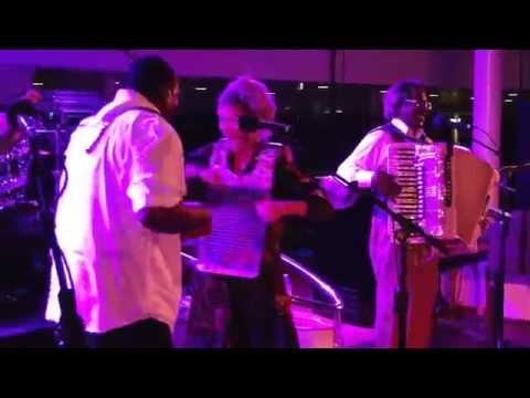 Buckwheat Zydeco & KC's Washboard Jo - Hey Fellas - -LRBC # 19. S.E. Caribbean 10/27~11/3 -2012
