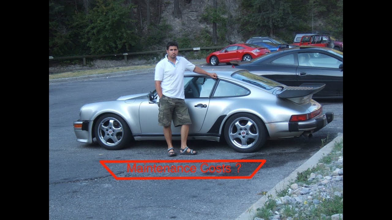 Porsche 911 Turbo 930 Maintenance Costs Youtube