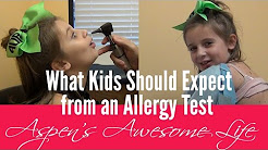 What Kids Should Expect from an Allergy Test