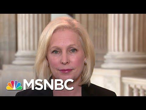 Sen. Kirsten Gillibrand: Trump Is 'Failing' As Commander In Chief | Andrea Mitchell | MSNBC