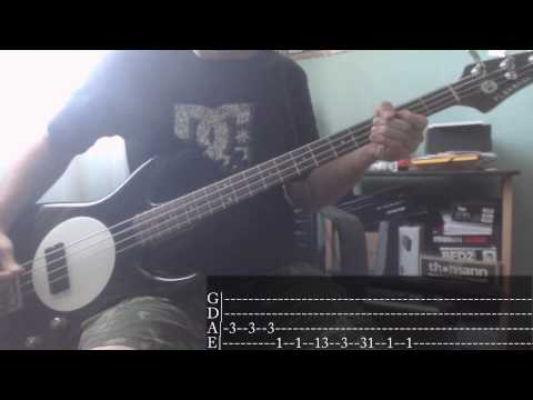 Pop-Punk/Punk-Rock's Week - 04 - Green Day - Minority [Bass Cover + Tab]