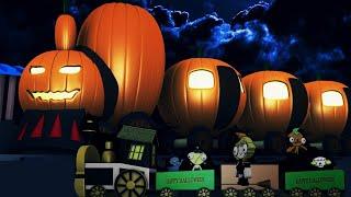 Halloween Cartoon Toy Factory - Choo Choo Thomas Cartoon Train for Kids