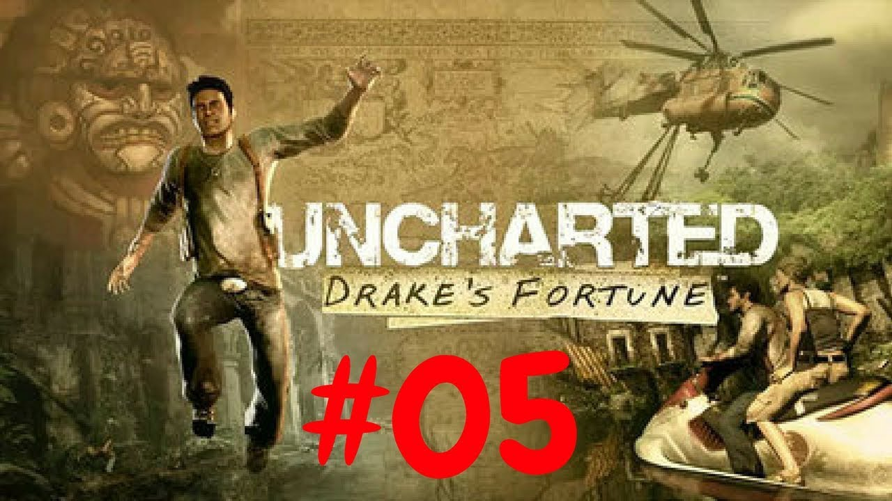 Download Uncharted Drake's Fortune PS4 Walkthrough #05 Carneficina ;)