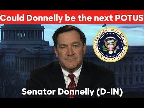 Joe Donnelly vs Donald Trump   2020 Election Prediction