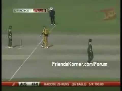 Pakistan Vs. Australia 5th ODI Highlights