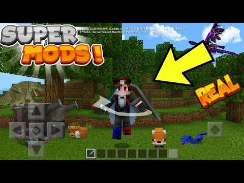 POR FIN! Mo' Bends MOD Para Minecraft Pe 1.13 - Mod Animation For Minecraft Pe