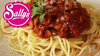leckere, schnelle, einfache Thunfisch-Tomatensoße für Nudeln / 15 Min. Rezept / Sallys Welt