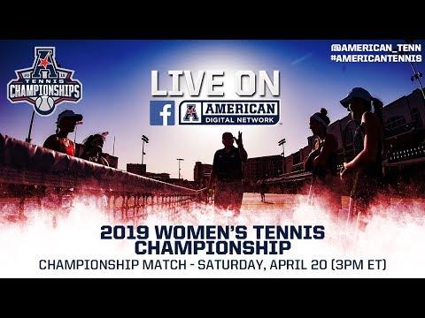 2019 American Digital Network: Women's Tennis Championship