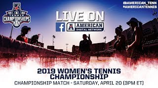 2019 American Digital Network: Women's Tennis Championship